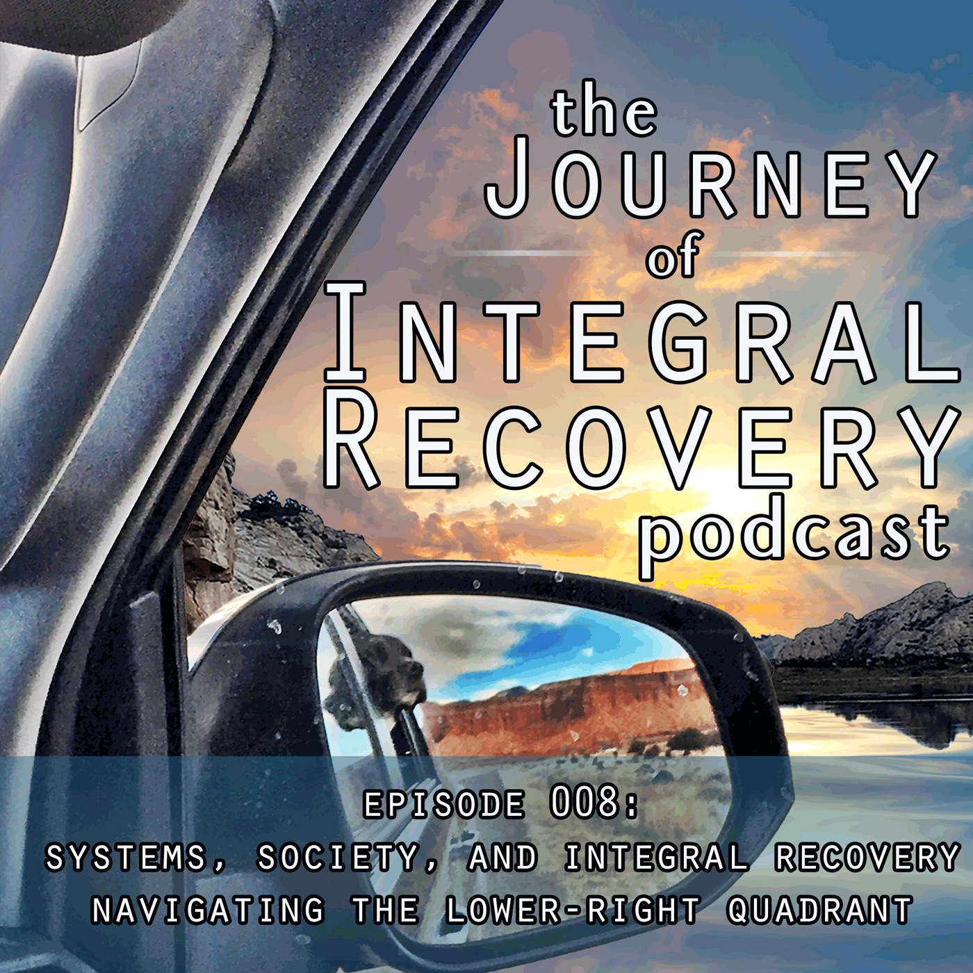 The Journey of Intergral Recovery Episode 8: Soceity, Systems, and Integral Recovery