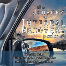 The Journey of Integral Recovery Podcast Episode 9: Your Multiple Intelligences - The Four Developmental Lines